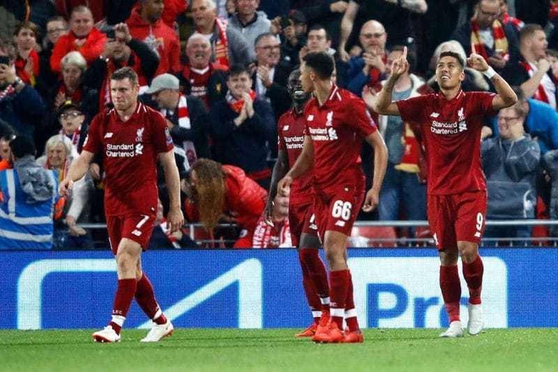 Liverpool FC vs Paris Saint Germain