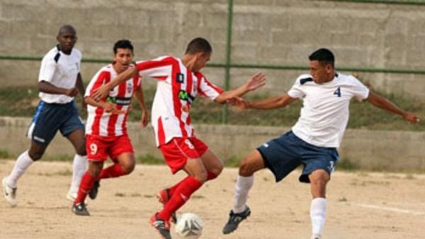 Na zdjeciu zawdnicy Deportivo Ocotal