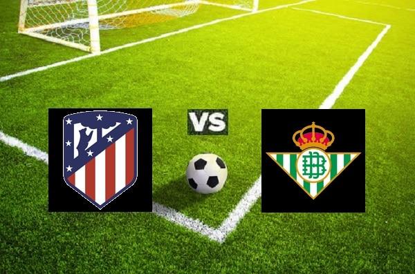 Zna zdjęciu zapowiedź meczu Atletico vs Betis