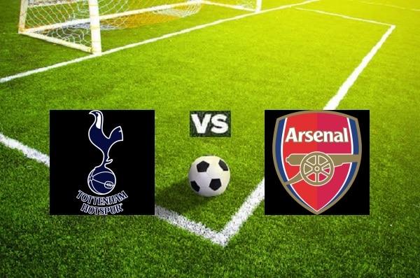 Na zdjęciu zapowiedź derbów Londynu pomiędzy Tottenhamem i Arsenalem