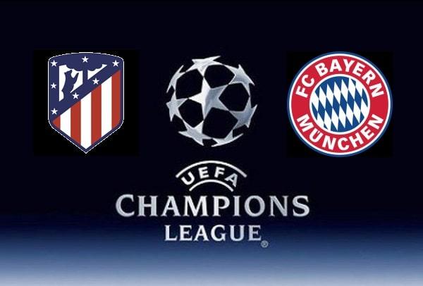 Na zdjęciu zapowiedź meczu Ligi Mistrzów